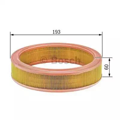 1 987 429 115 - Air filter