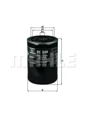 OC 248 - Oil filter
