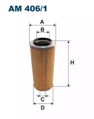 AM406/1 - Air filter