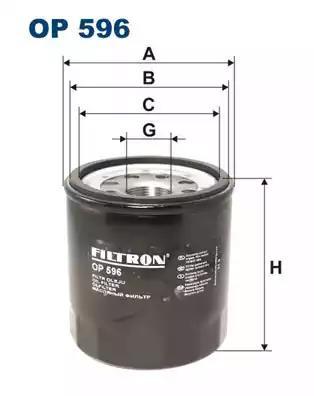 OP596 - Oil filter