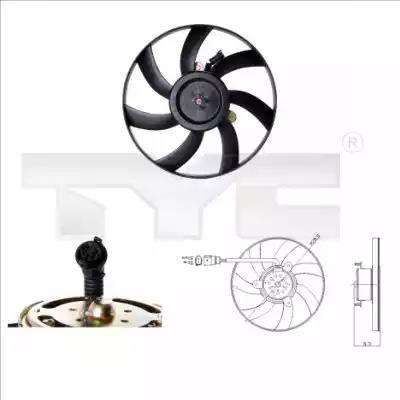 831-0003 - Fan, radiator