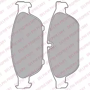 LP2238 - Brake Pad Set, disc brake