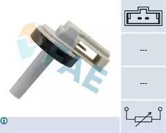 Sender Unit, interior temperature