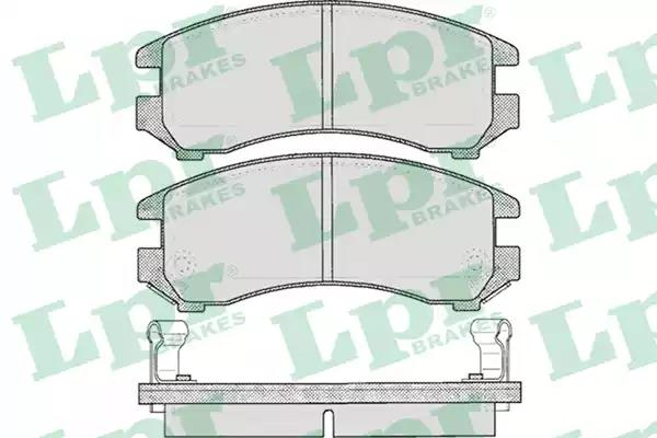 05P363 - Brake Pad Set, disc brake