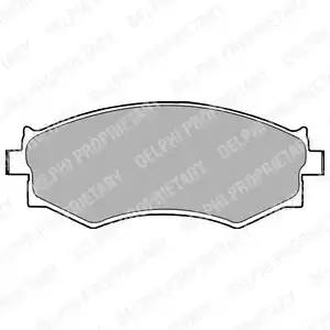 LP1228 - Brake Pad Set, disc brake