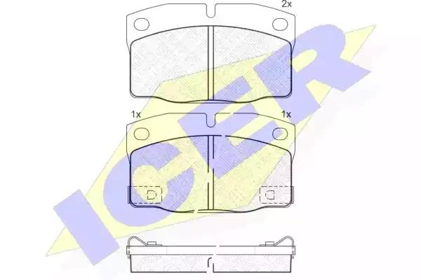 181093 - Brake Pad Set, disc brake