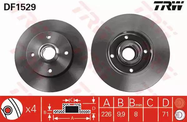 DF1529 - Brake Disc