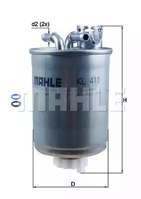KL 410 - Polttoainesuodatin