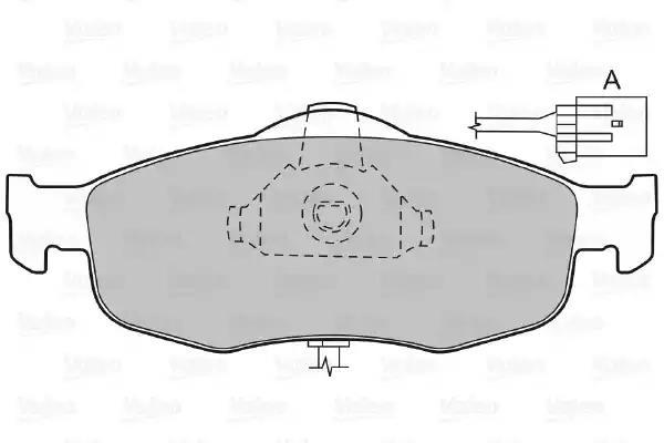 598034 - Piduriklotsi komplekt, ketaspidur