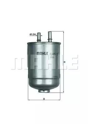 KL 485/15D - Polttoainesuodatin