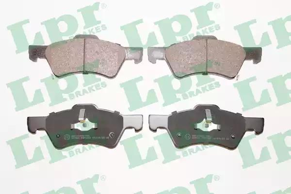 05P1006 - Brake Pad Set, disc brake