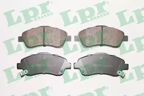 05P1114 - Brake Pad Set, disc brake