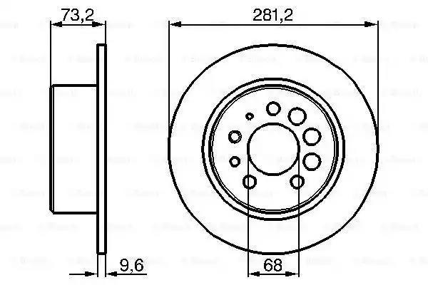 0 986 478 143 - Brake Disc