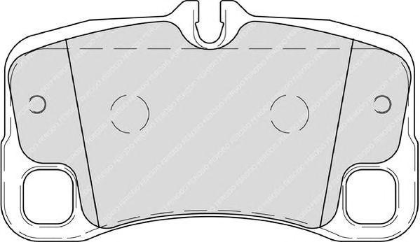FDB4211 - Piduriklotsi komplekt, ketaspidur