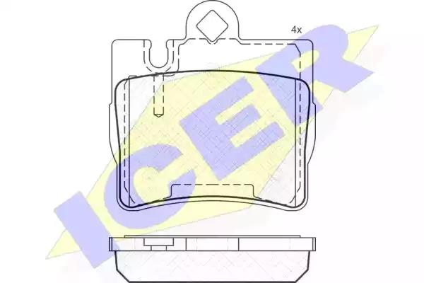 181390 - Brake Pad Set, disc brake