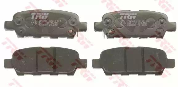 GDB3507 - Brake Pad Set, disc brake