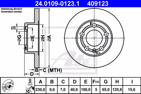 24.0109-0123.1 - Brake Disc