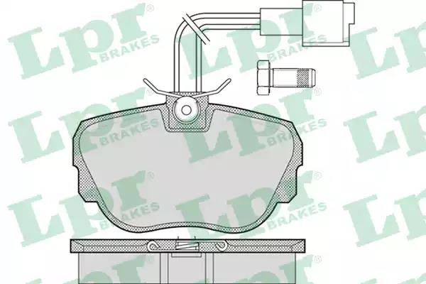 05P1079 - Brake Pad Set, disc brake