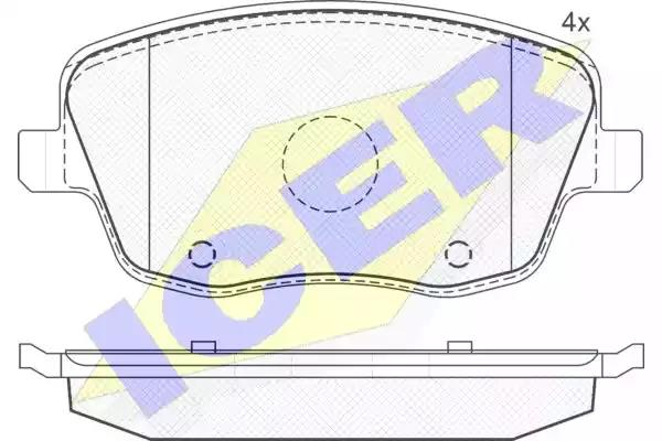181575 - Brake Pad Set, disc brake
