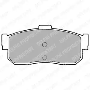 LP975 - Brake Pad Set, disc brake