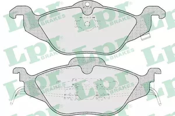 05P698 - Brake Pad Set, disc brake
