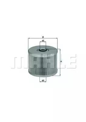 KX 20 - Fuel filter