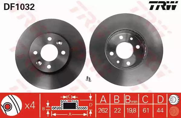 DF1032 - Brake Disc