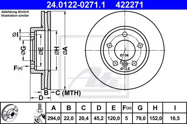 24.0122-0271.1 - Brake Disc