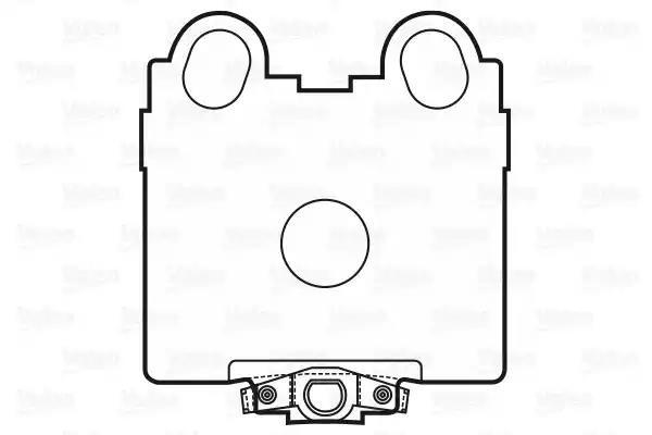 601025 - Bromsbeläggssats, skivbroms