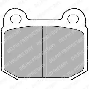 LP87 - Brake Pad Set, disc brake