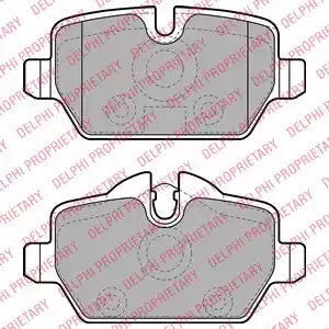 LP1924 - Brake Pad Set, disc brake
