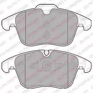 LP2065 - Brake Pad Set, disc brake