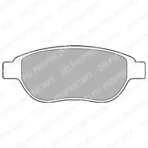 LP1653 - Brake Pad Set, disc brake