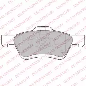 LP2161 - Brake Pad Set, disc brake