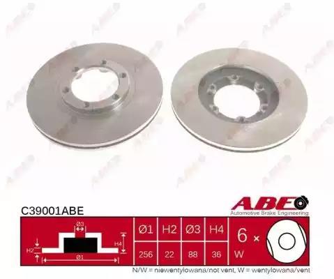 C39001ABE - Brake Disc