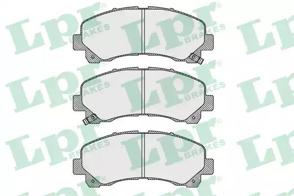 05P1630 - Brake Pad Set, disc brake