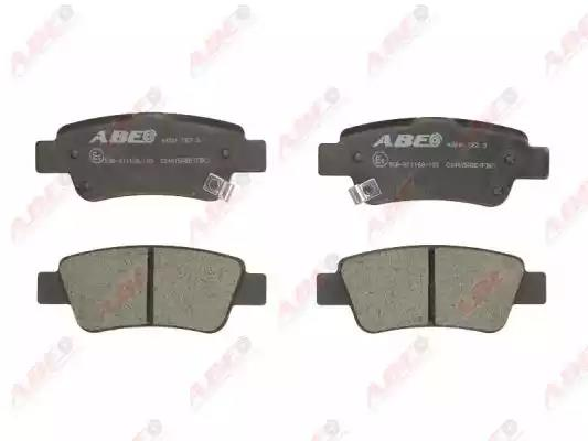 C24015ABE - Bromsbeläggssats, skivbroms