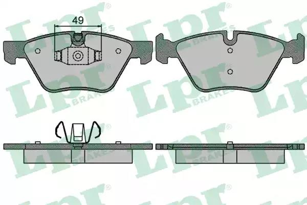 05P1511 - Brake Pad Set, disc brake