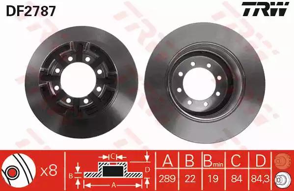 DF2787 - Brake Disc