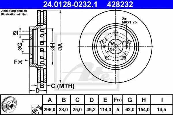 24.0128-0232.1 - Brake Disc