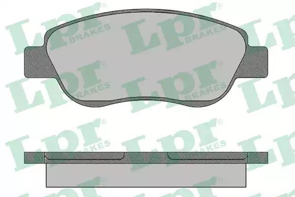 05P1491 - Piduriklotsi komplekt, ketaspidur