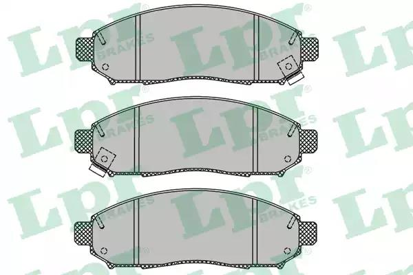 05P1495 - Brake Pad Set, disc brake