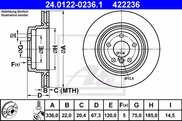 24.0122-0236.1 - Brake Disc
