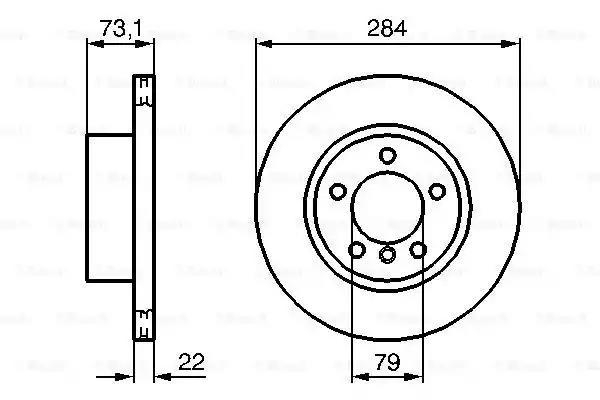 0 986 479 213 - Brake Disc