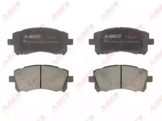 C17011ABE - Bromsbeläggssats, skivbroms