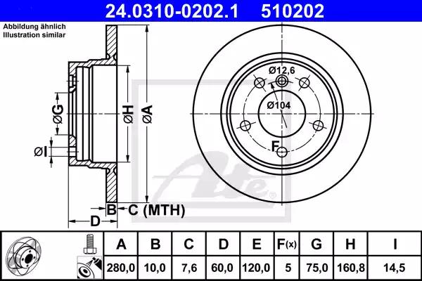 24.0310-0202.1 - Brake Disc