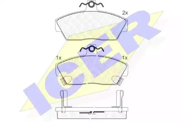 180859 - Brake Pad Set, disc brake