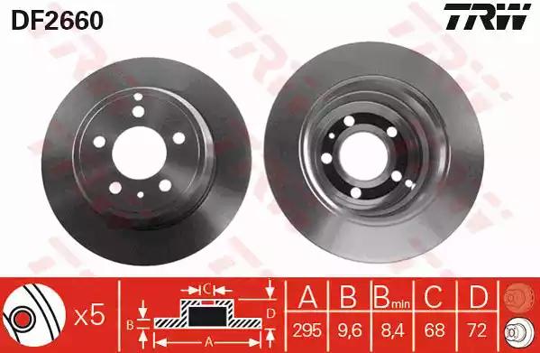 DF2660 - Brake Disc