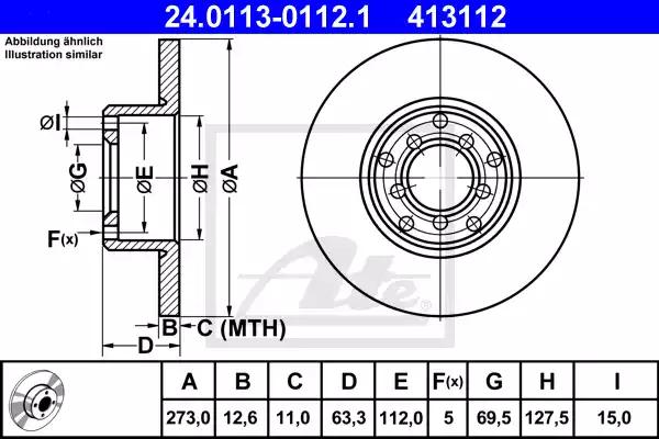 24.0113-0112.1 - Brake Disc