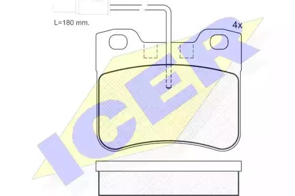 180788-202 - Brake Pad Set, disc brake